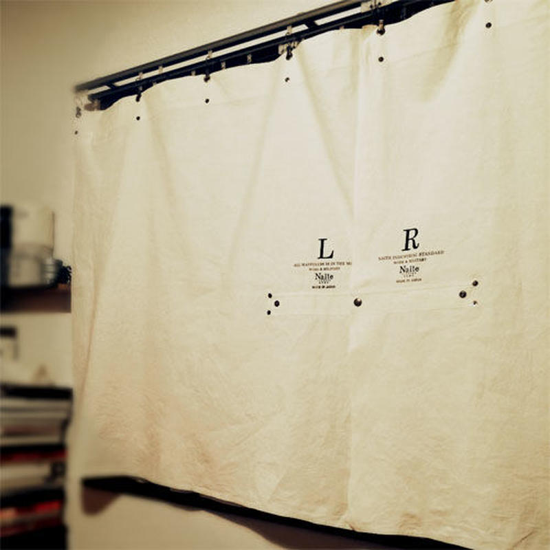 Sheeting curtain short / メンズ・カーテン ※受注生産商品 Made in JAPAN 送料無料