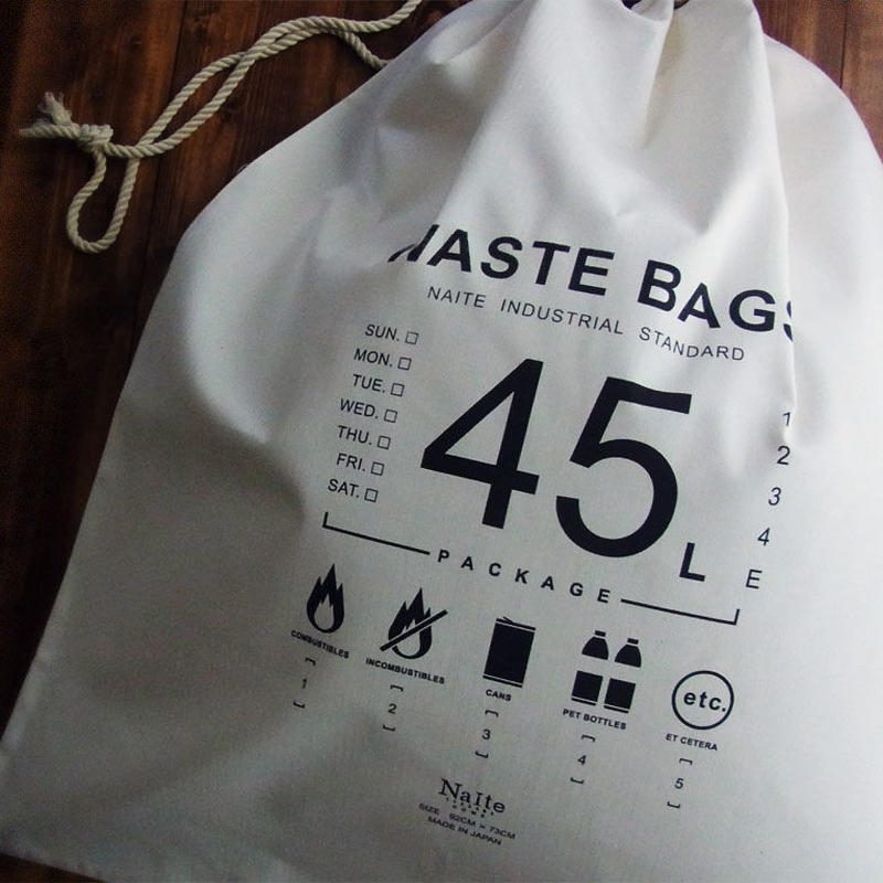 Waste bag 45L / ゴミ袋用バッグ Made in JAPAN 送料無料