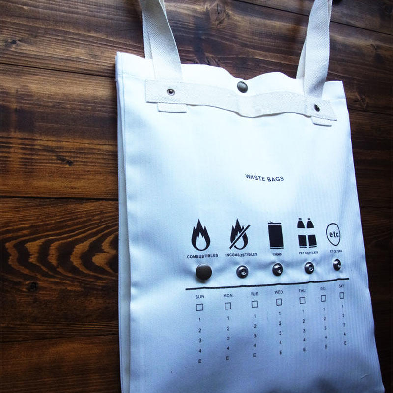 Waste bag / ゴミ袋用バッグ Made in JAPAN 送料無料