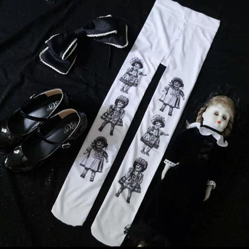 【9月発売ご予約】アンティークドールタイツ