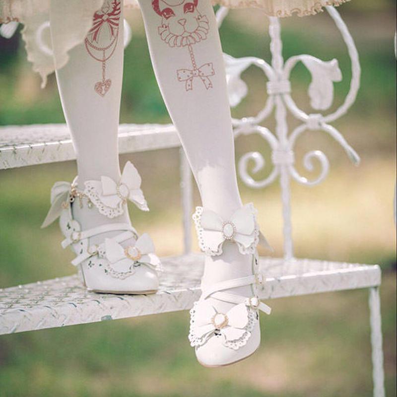 蝶々から生まれたお靴【2色】