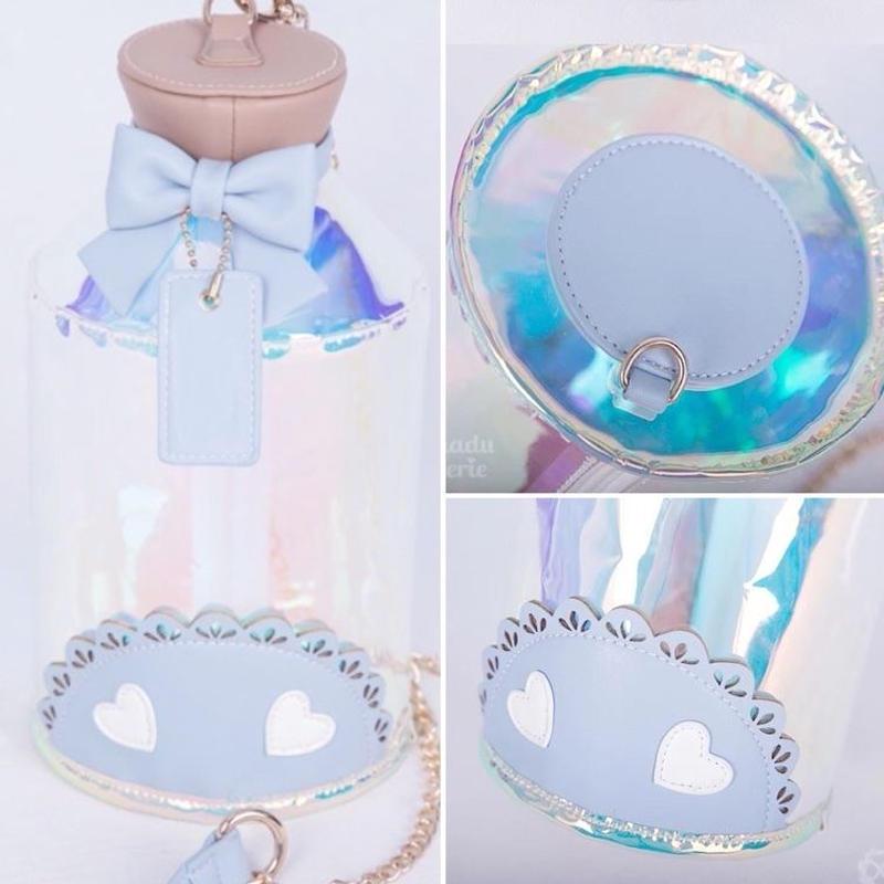 【専用商品】夢小瓶痛バ透明ブルー