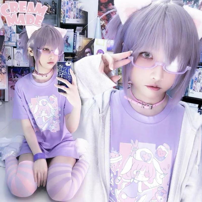 【2色】うさうさナースTシャツ