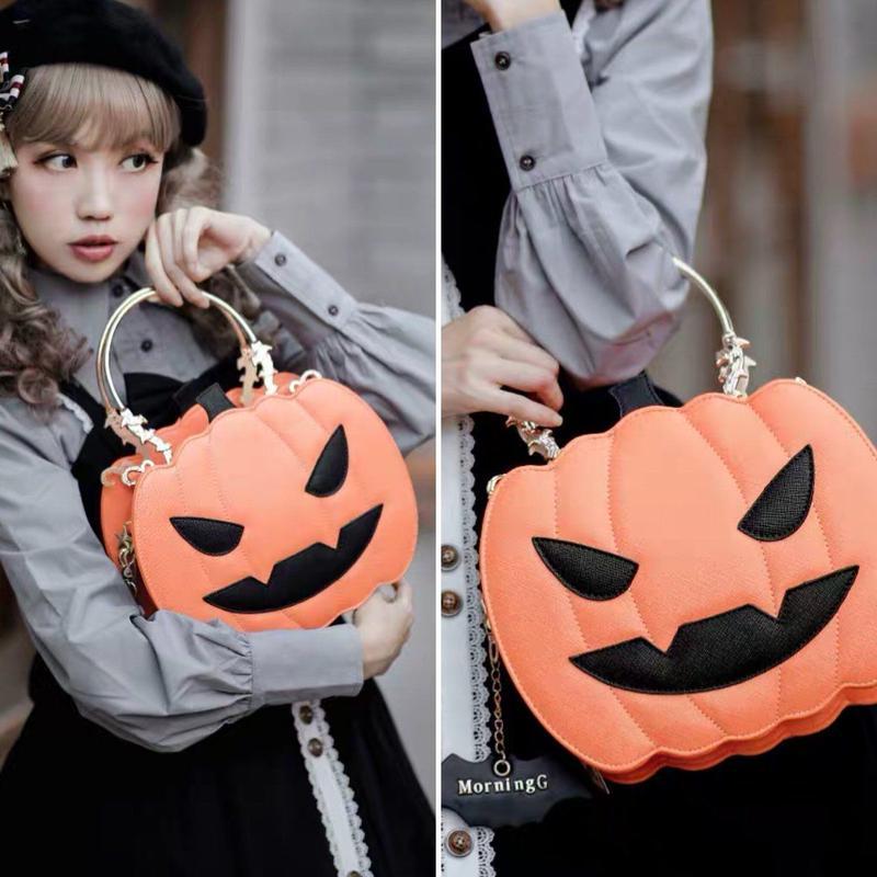 【専用商品】ハロウィンかぼちゃバッグ 【7】