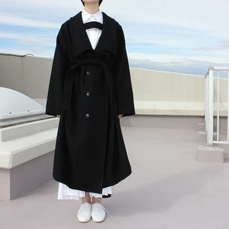 《Akihide Nakachi》2way  wool coat