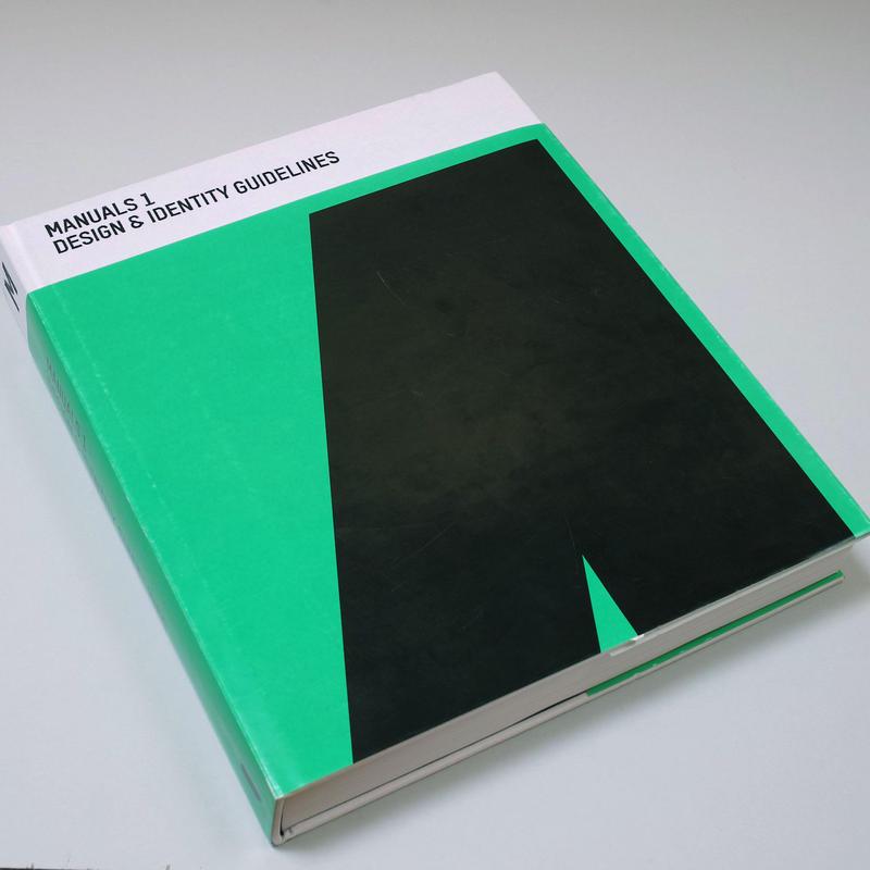 Manuals 1: Design & Identity Guidelines