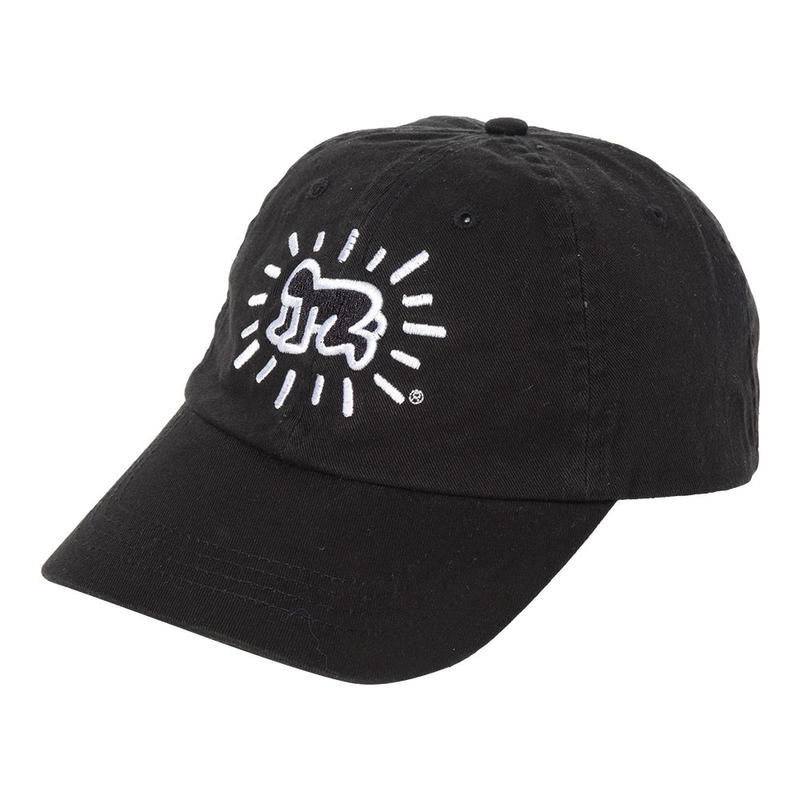POP SHOP Keith Haring Baseball Cap (Baby) Black