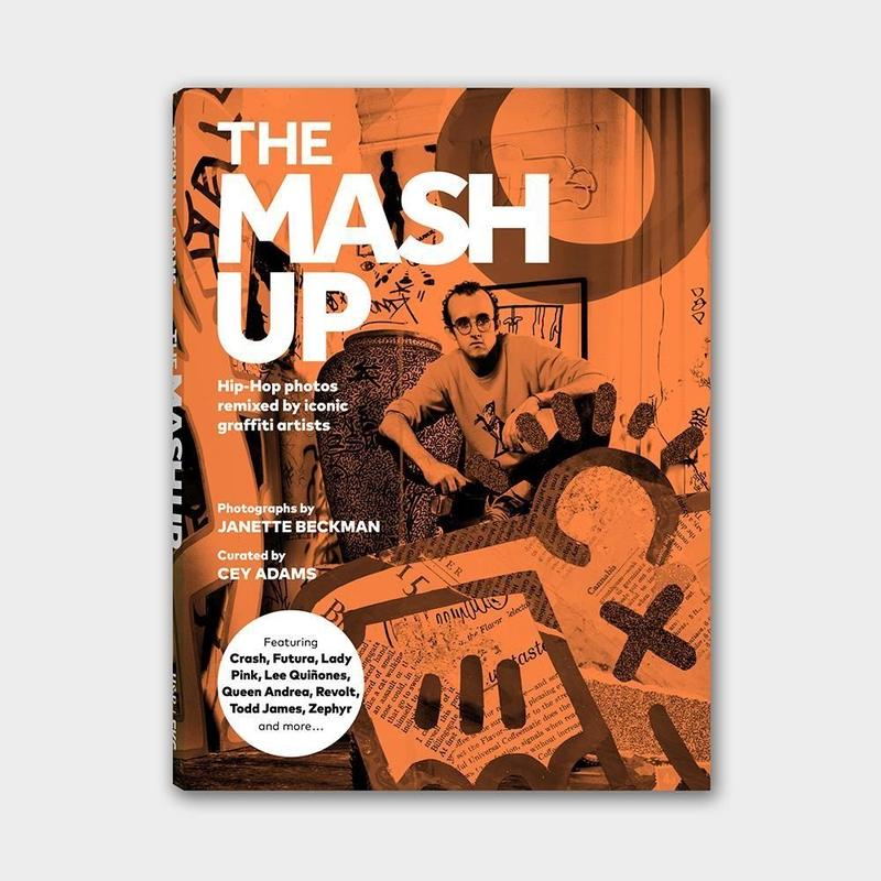 The Mash Up: Hip-Hop Photos Remixed by Iconic Graffiti Artists  (Orange)