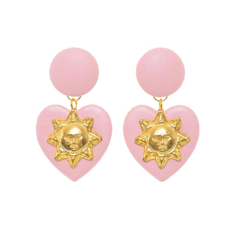 Badacious Pink Lolita Mini ピアス