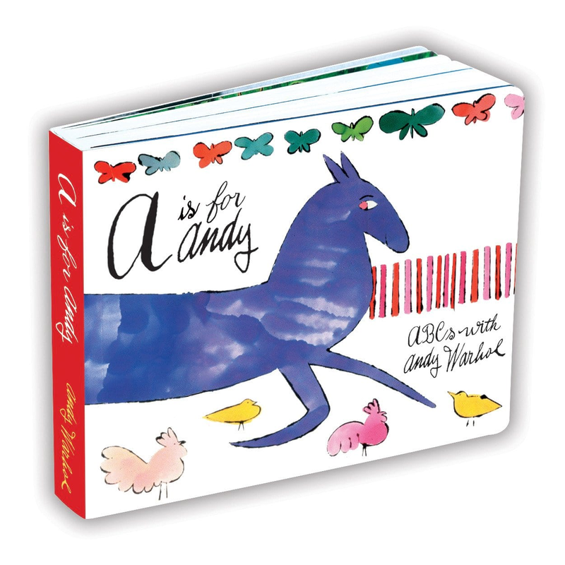 Mudpuppy Andy Warhol A Is For Andy Board Book
