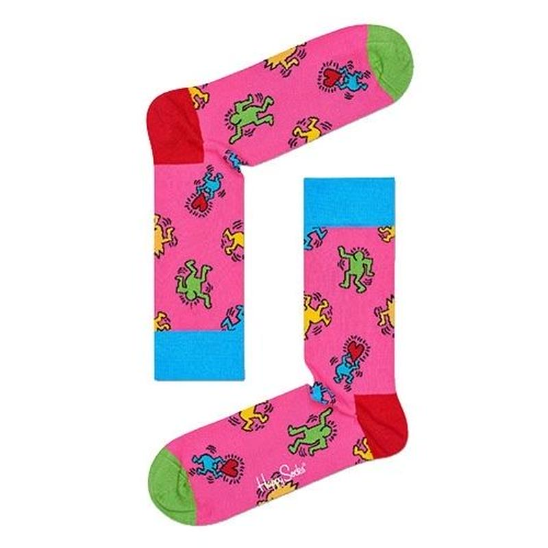 Happy Socks × Keith Haring Dancing Socks