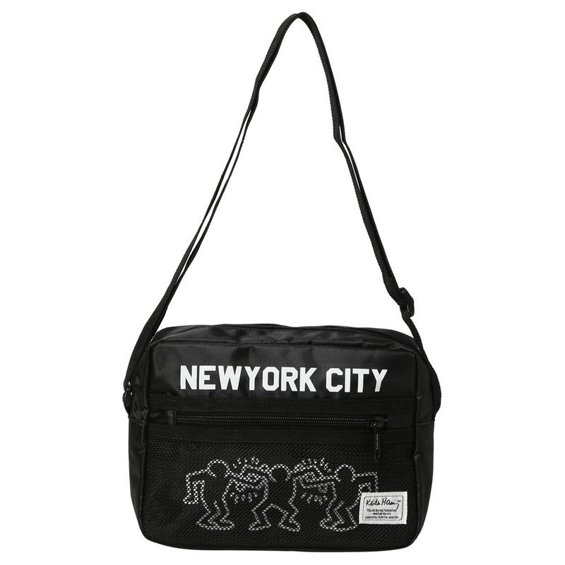 Rainbow Works Keith Haring Shoulder Bag NYC 2 People