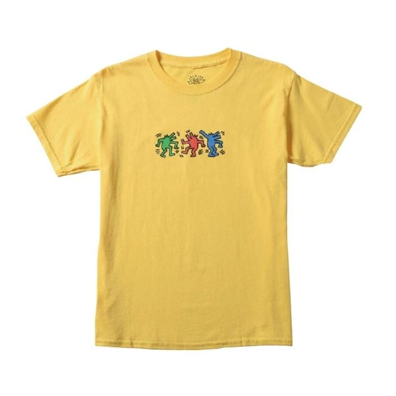 Keith Haring Dancing Dog Kids T-Shirt White キース・ヘリング キッズ Tシャツ