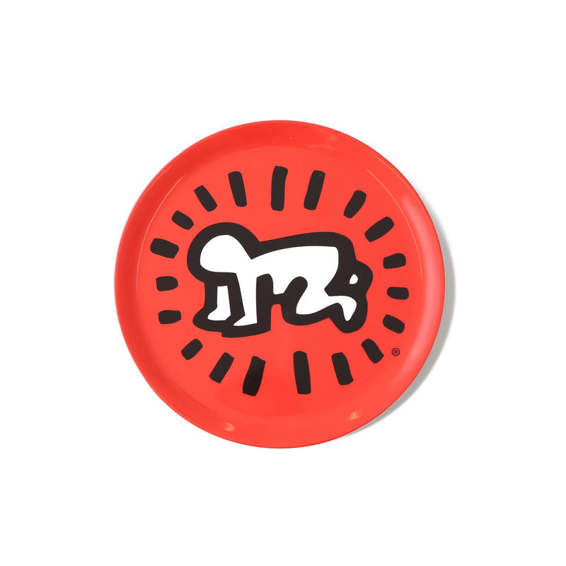 ASOKO  KEITH HARING MELAMINE PLATE (BABY)