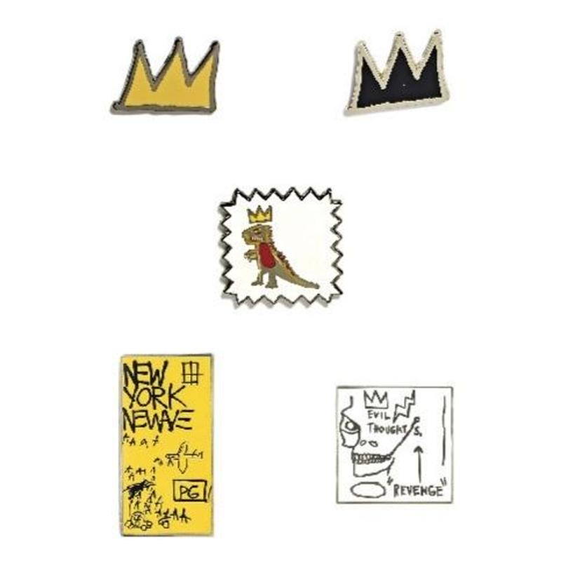 PINTRILL BASQUIAT PINS
