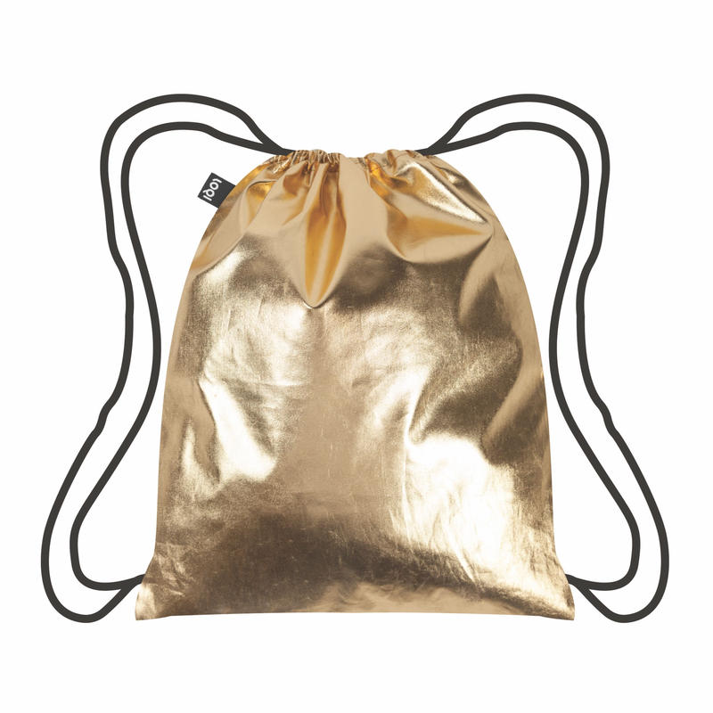 LOQI  Metallic Gold BackPacks