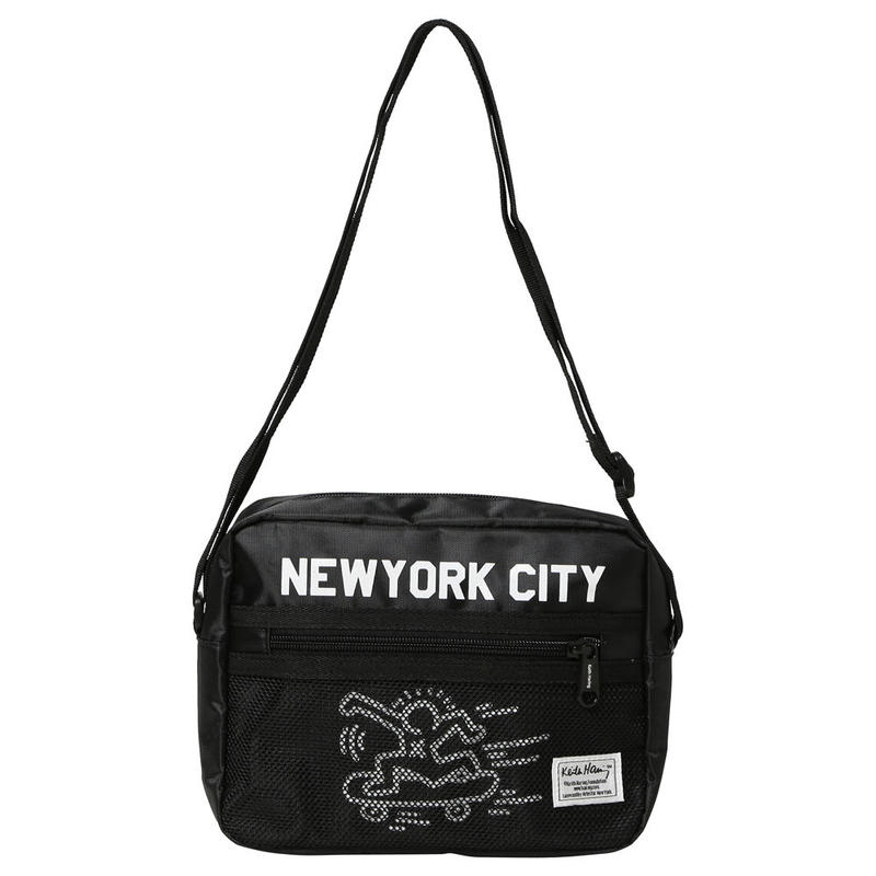 Rainbow Works Keith Haring Shoulder Bag NYC 1 Skater