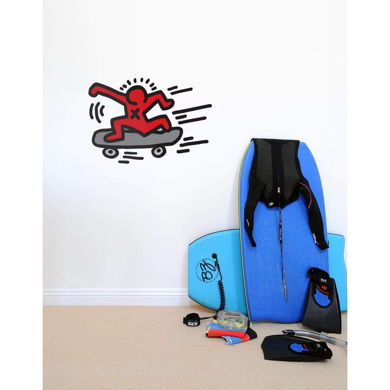 BLIK  Keith Haring  Skater  Wall Sticker