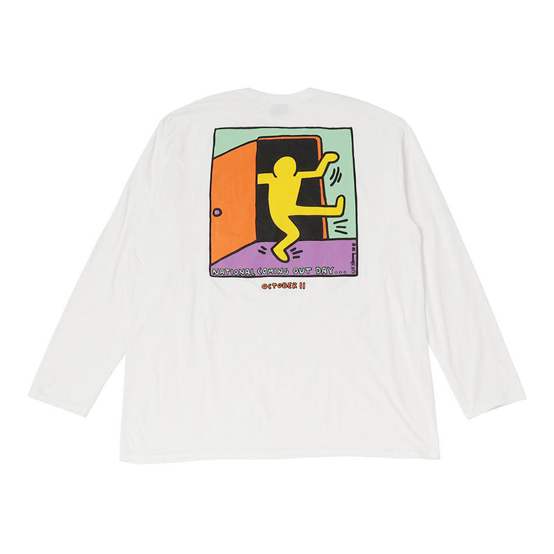 Keith Haring × National Coming Out Day Long T-Shirts