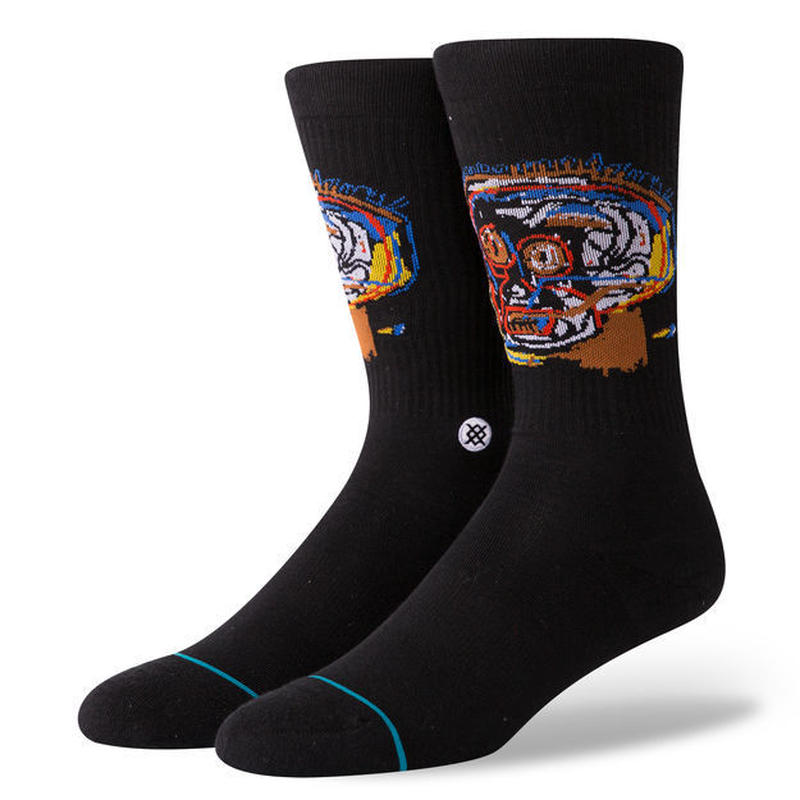 STANCE × BASQUIAT  HEAD CASE SOCKS