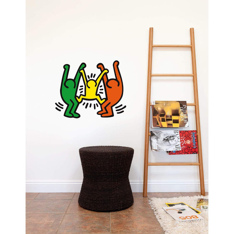 BLIK  Keith Haring  Familly Wall Sticker
