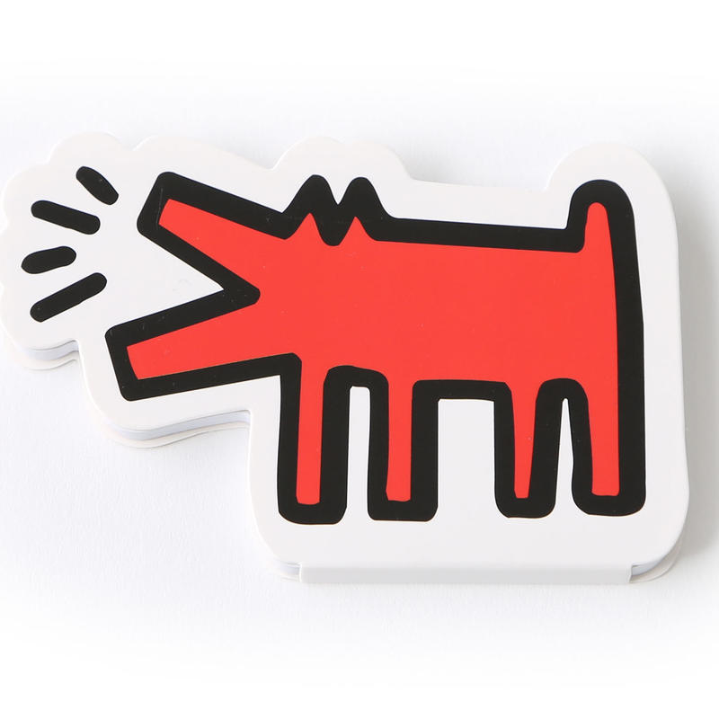 ASOKO  KEITH HARING STICKY NOTE (DOG)