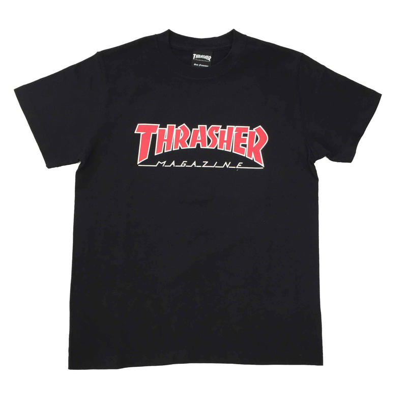 "Keith Haring × THRASHER Unisex T-Shirts ""TV ""  Black"