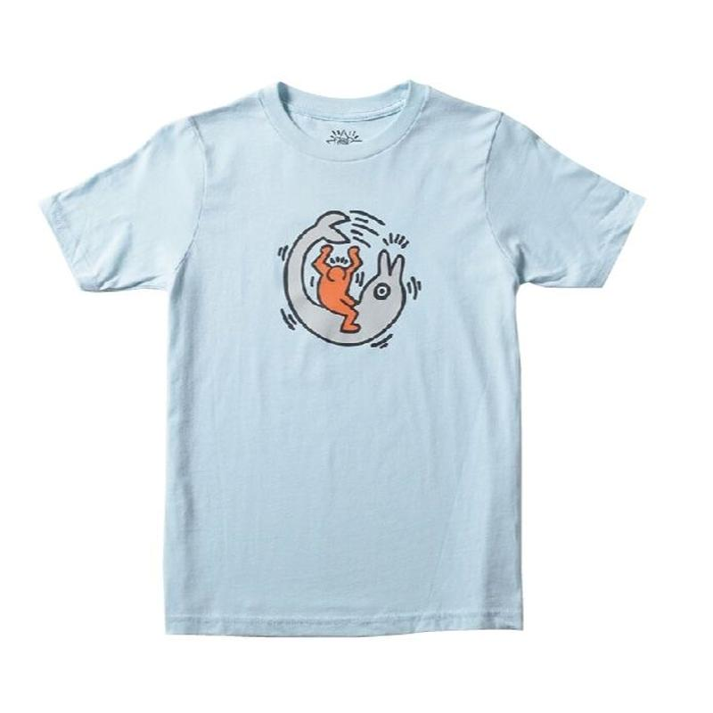 Keith Haring Dolphin Kids T-Shirt White キース・ヘリング キッズ Tシャツ