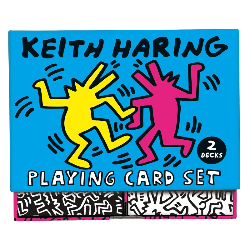 Mudpuppy Keith Haring Playing Card Set