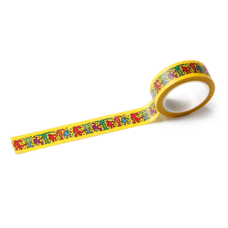 ASOKO  KEITH HARING MASKING TAPE (PEOPLE)