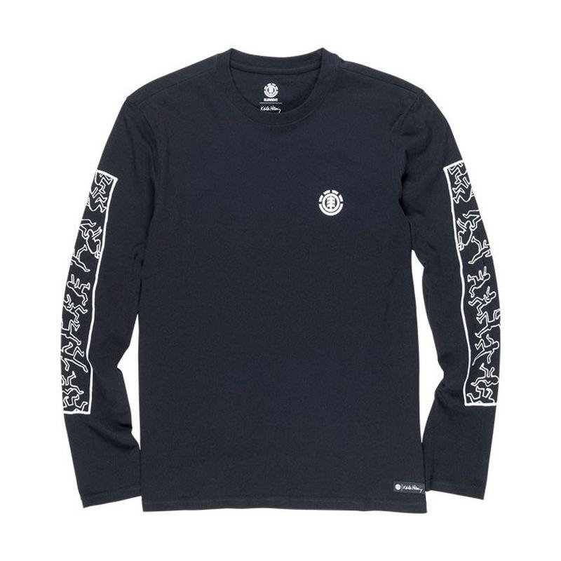 ELEMENT Jump Long Sleeve Tee Black