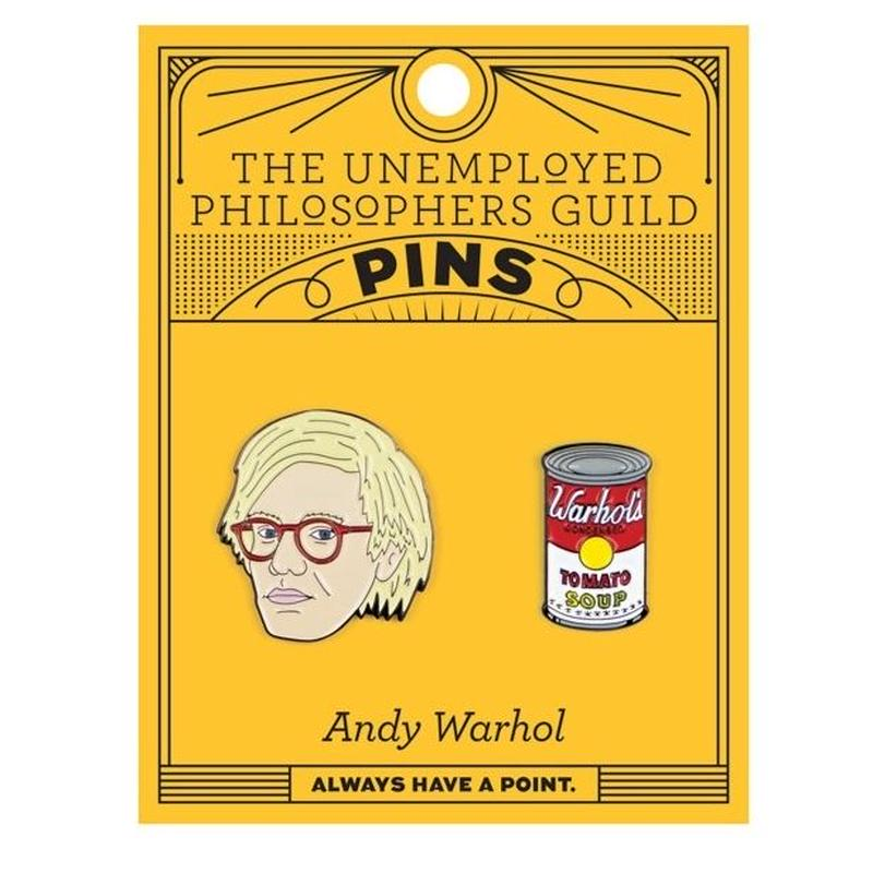 Warhol & Soup Can PINS