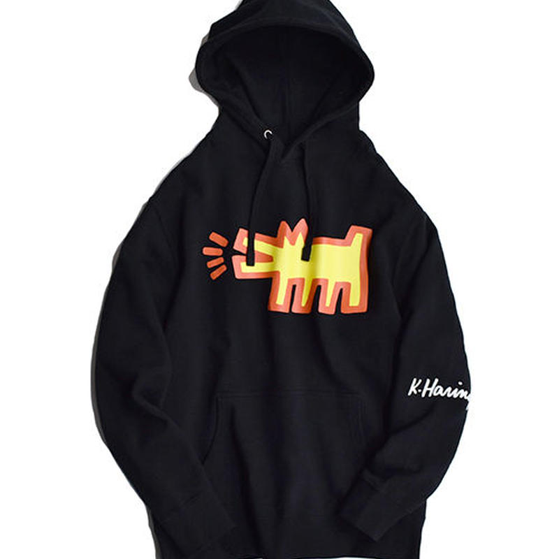 Nouno Keith Haring Icon Parka 〈Dog Black〉KH-NN1902