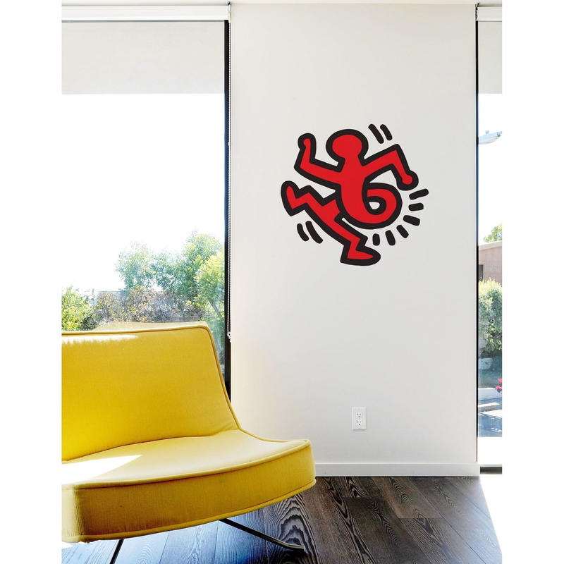 BLIK  Keith Haring  Twisting  Man Wall Sticker
