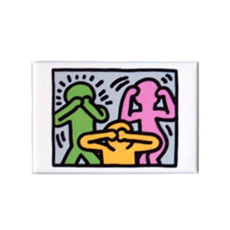 Keith Haring Medium Magnet  (No Evil)