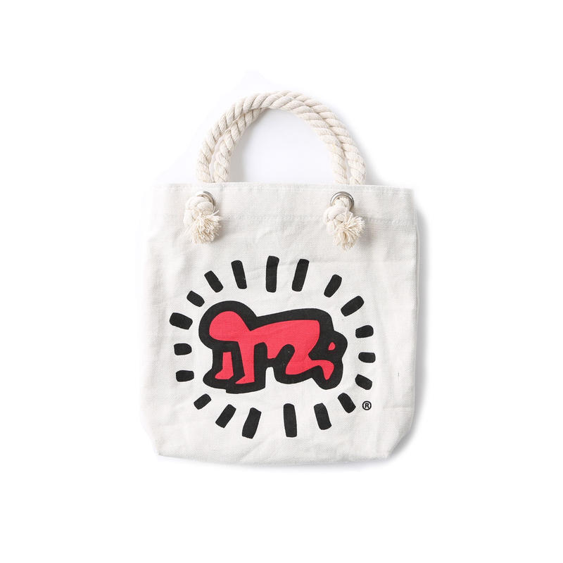 ASOKO  KEITH HARING MINI ROPE BAG (BABY&DOG)