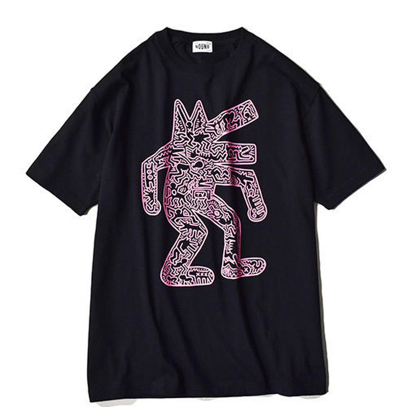 Nouno Keith Haring  ART Tee  <Dog,1986> KH-NN1807