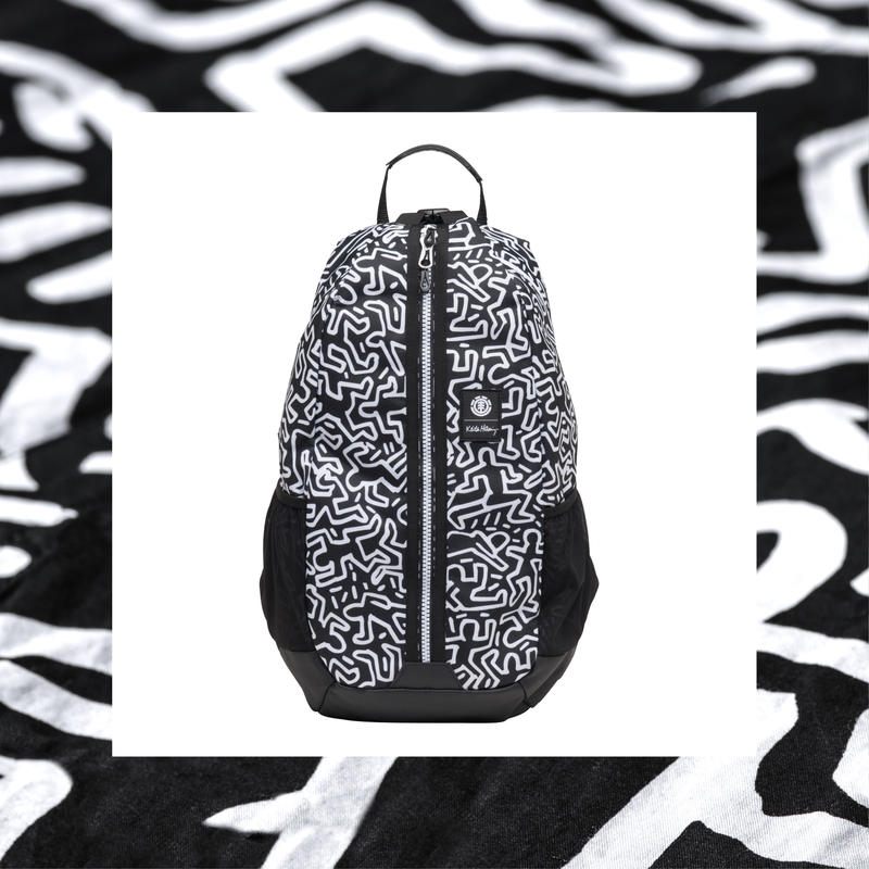Element  Keith Haring  Jaywalker Backpack