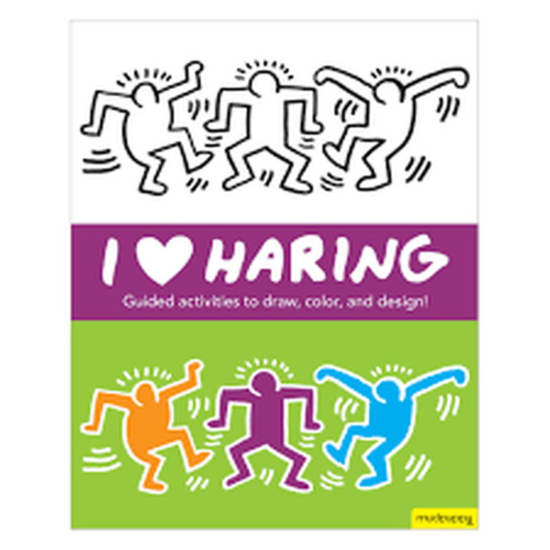 Keith Haring Activity Book