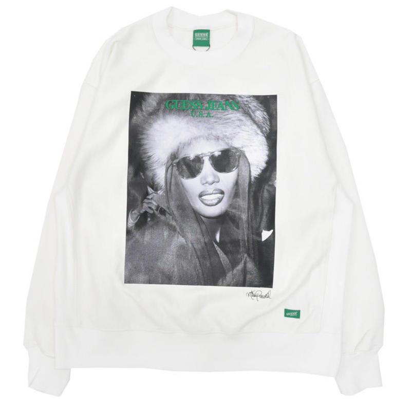 GUESS GREEN LABEL Grace Jones Sweater (White)