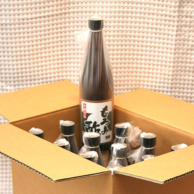 「もろみ酢 生詰」720ml (12本入り)