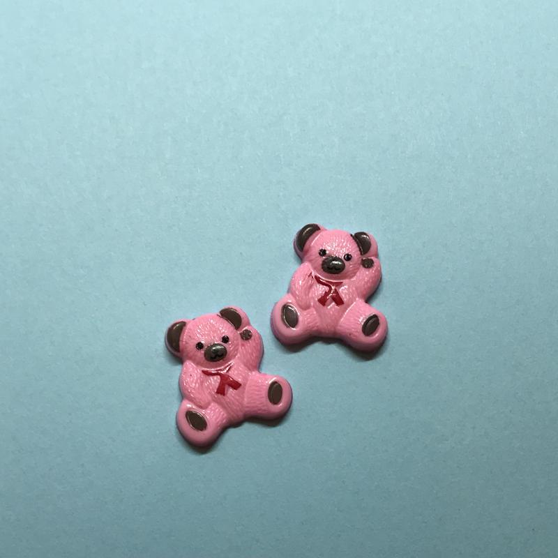 ピンクくま〈4コ〉