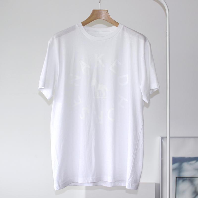 【SALE】3.8oz Lightweight College Tshirts White