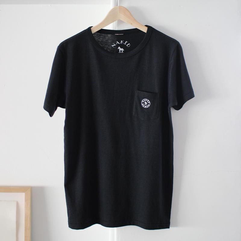 【SALE】Pocket Tshirts Black