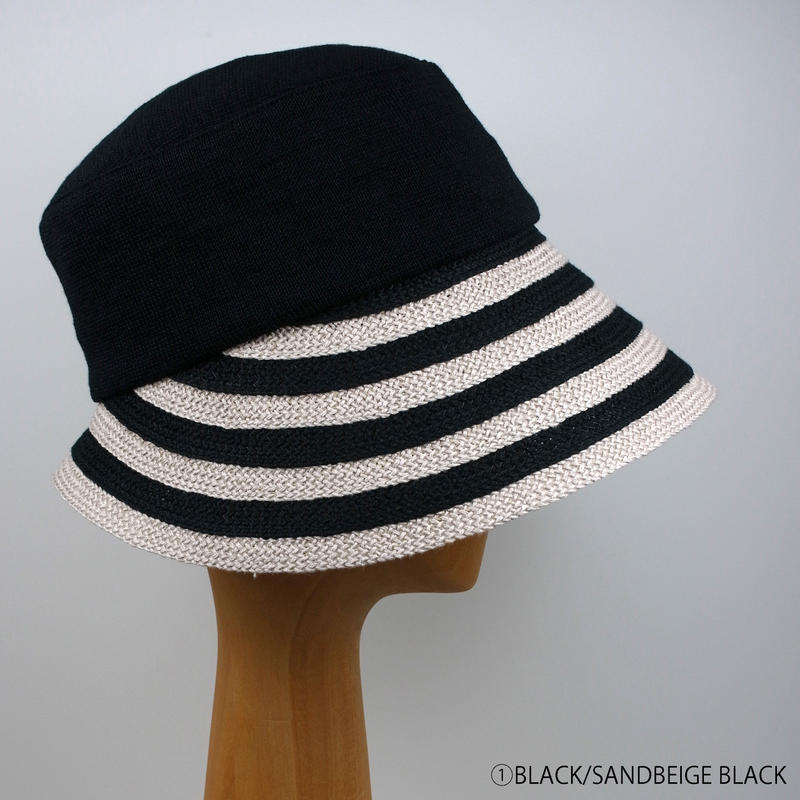 ASB-09 raffine stripe knit