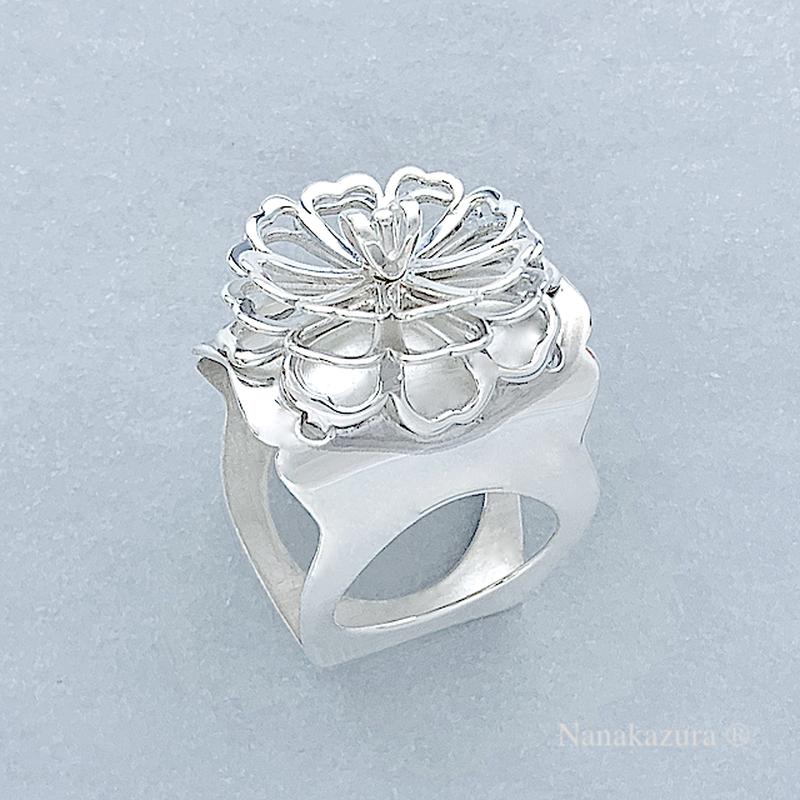 牡丹 ring  /  Peony ring