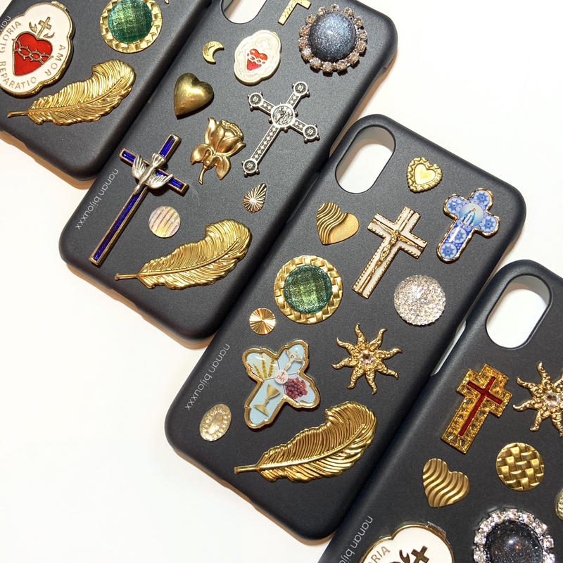 iPhone case X, XS size 〈Black〉