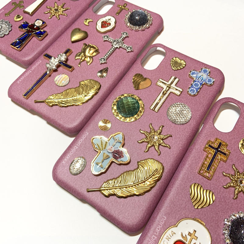 iPhone case X, XS size 〈Pink〉