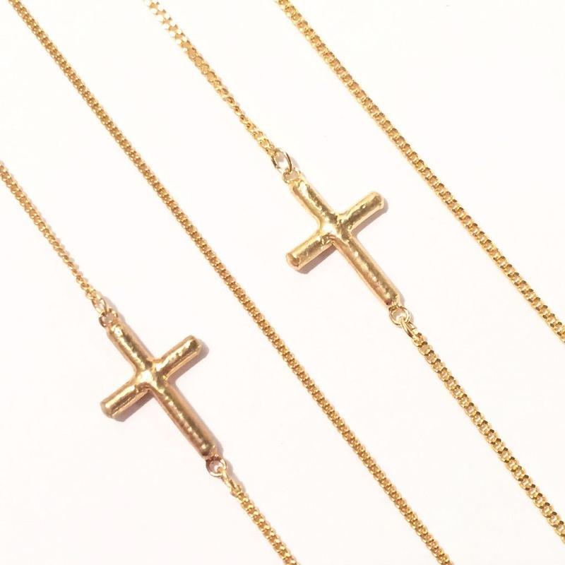 Cross chain 40cm/45cm