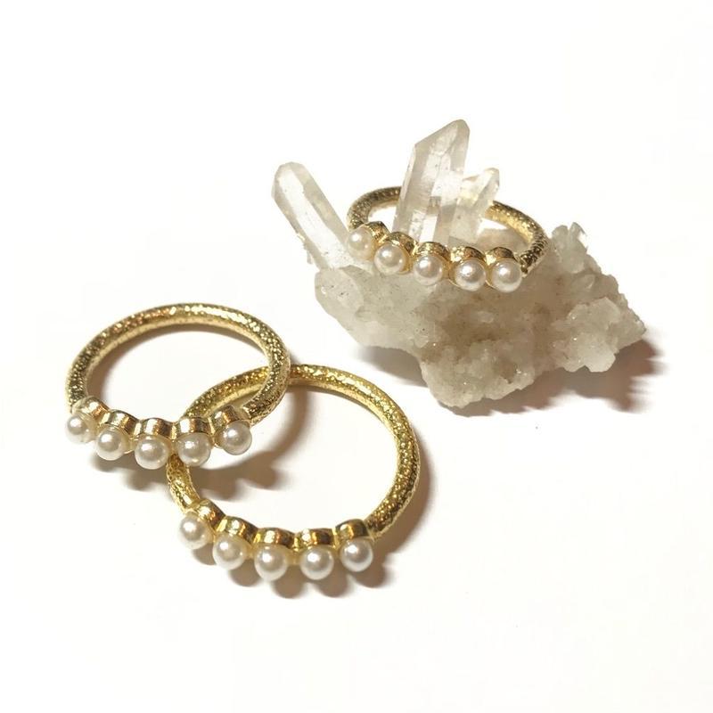 【受注商品】Pearl ring